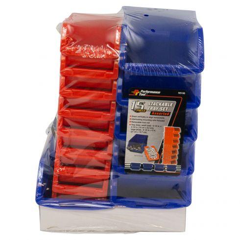 15pc Storage Bin Set