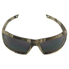 DRY FOREST: Wide Full Framed High Impact w/ANTI FOG GRAY Polycrbnte Lens CAMO UV Safety Glasses
