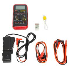 Deluxe Automotive Digital Multi-Meter (w/42 Test Ranges, RPM, Temp. Freq, Zippered Carrying Case)