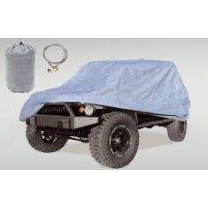 Full Car Cover Kit, 55-06 Jeep CJ and Wrangler