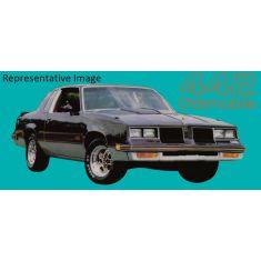 1985-87 Oldsmobile 442 Stripe & Names Kit Gold