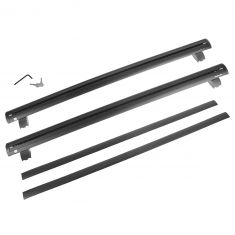 11-15 Jeep Grand Cherokee Roof Rack Cross Bar Rail PAIR w/Installation Kit (Mopar)