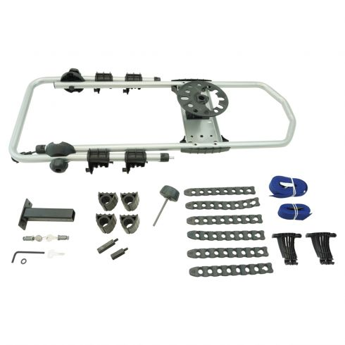 97-16 Jeep Wrangler; 02-07 Liberty ~Thule~ Spare Tire Carrier Mounted (2) Bike Rack (Mopar)