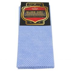 SURE DRI: Non-Woven Perforated Blue Cleaning/Drying Cloth (3.50 SQ FT)