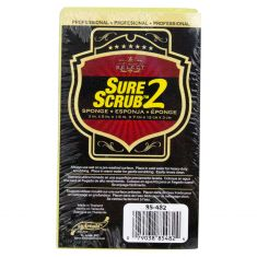 SURE SCRUB 2: Professional Yellow Cleaning Sponge (3.0 x 5.0 x 1.5 In)