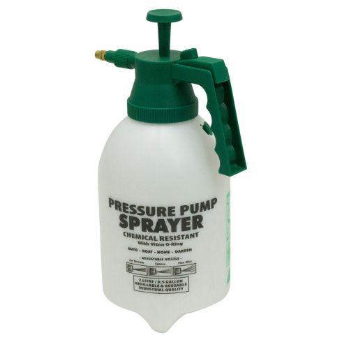 Professional (2 Liter) Hand Held Pump Sprayer (Adjusts from Fine Mist to Sharp Stream)