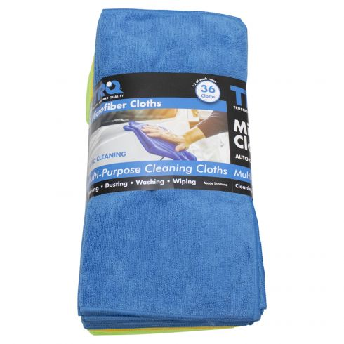 16x16 Microfiber Cloth Towel 36 Pack
