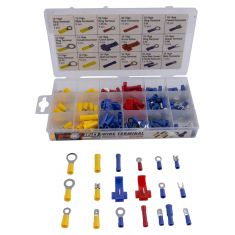 160 pc Wire Terminal Assortment