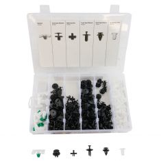 290pc BMW Trim Clip Assortment