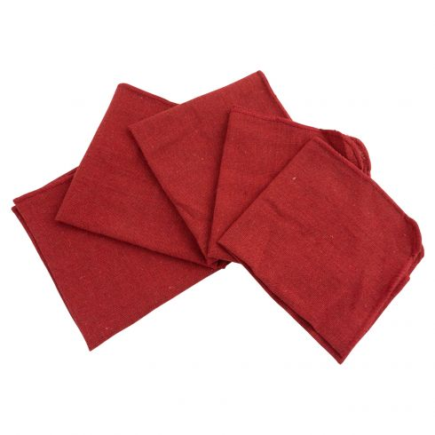 25pk Shop Towels - 13.75 x 13