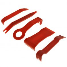 5 Piece Multi Use, Multi Purpose Auto Body Clip Removal Tool Set