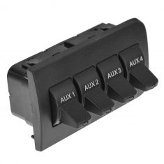 11-15 Ford F250, F350, F450, F550 Super Duty In-Dash Upfitter 4 Button Auxillary Switch (Ford)