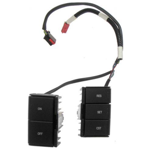 04-11 Ford F150; 06-08 Mark LT Cruise Control Switches w/o Radio Controls (Motorcraft)