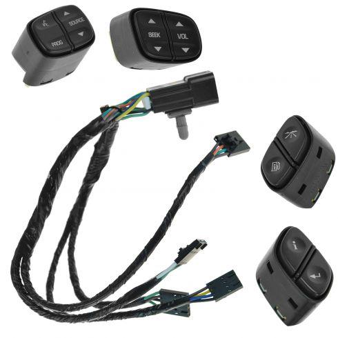 Chevy GMC Steering Wheel Radio Audio Control Harness Kit OEM New Genuine GM