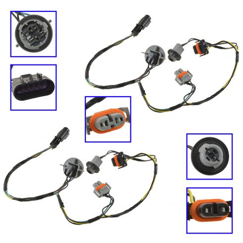 Fine Gm Headlight Wiring Harness Wiring Diagram Data Wiring Cloud Hisonuggs Outletorg