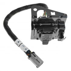 02-04 Ford F250SD, F350SD Trailer Tow Wiring Harness (4 & 7 Pin) w/Plug & Mounting Bracket (FORD)