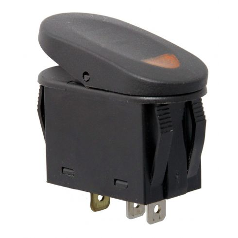 2-Position Rocker Switch, Amber