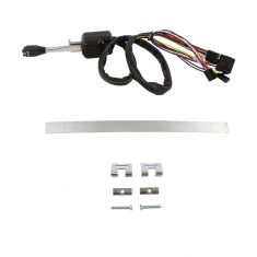 87-94 Peterbilt 377; 87-98 378, 379 (w/17 Wire Hrns w/relay, 16 Bulb Cap) Chrome Turn Signal Sw (DM)
