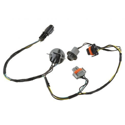 GMZWH00008-2008-12 Chevy Malibu Driver or Penger Side Headlight Wiring on